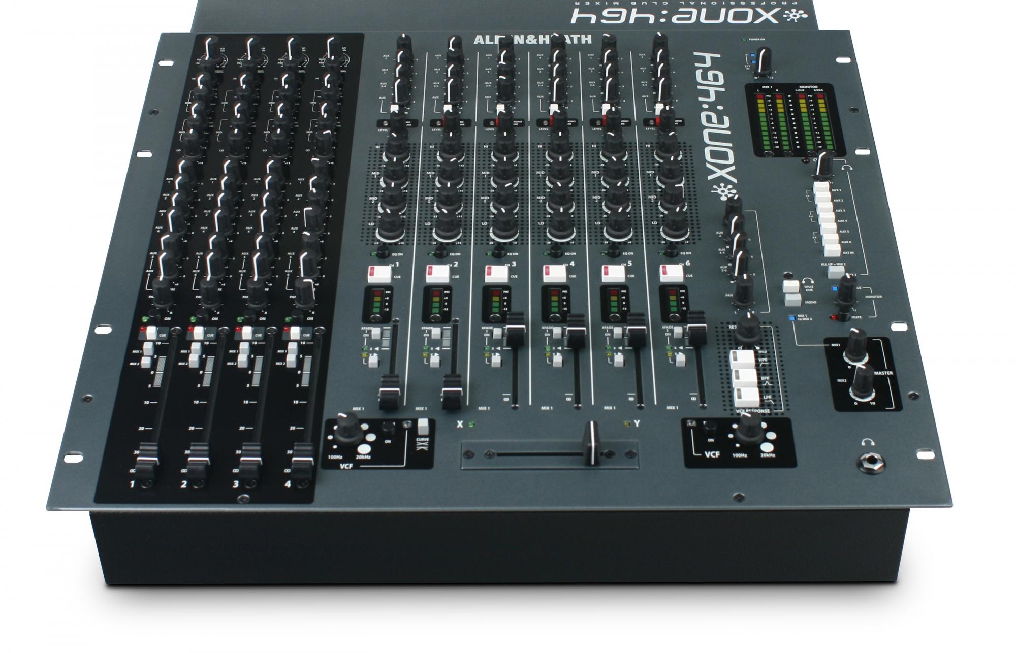 6 kanals DJ mixere