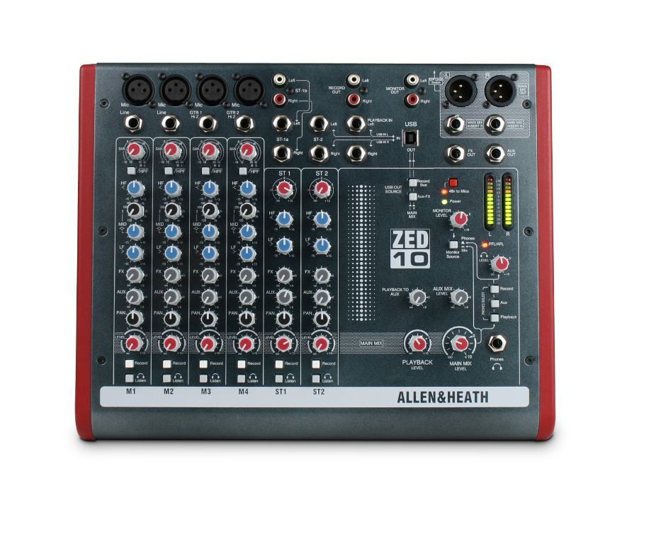 Image of   Allen & Heath ZED-1002
