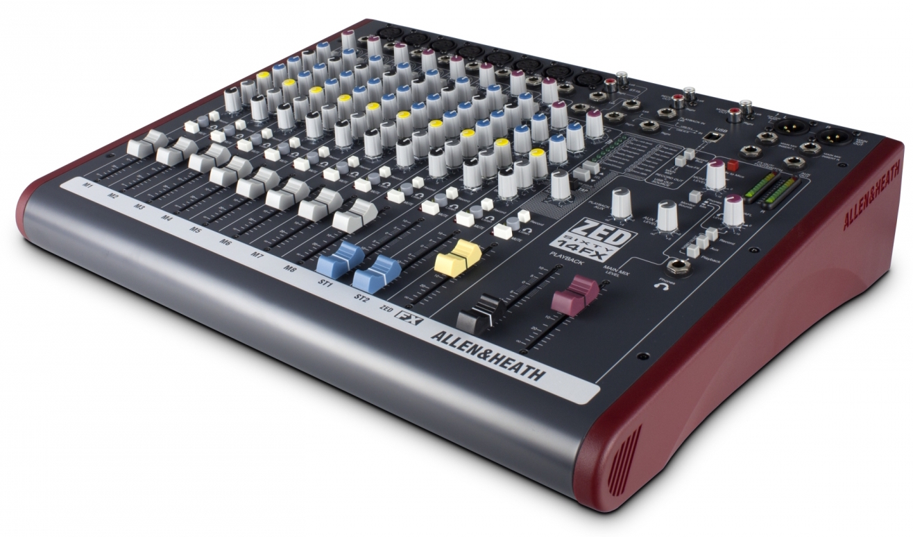 Image of   Allen & Heath ZED60-14FX