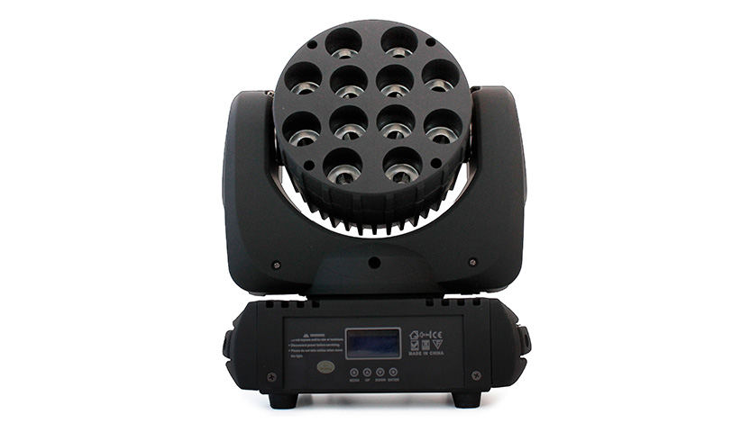 Atomic4DJ Moving Head Lotus 12 Beam LED QCL