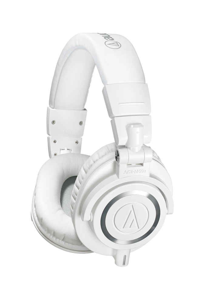 Image of   Audio-Technica ATH-M50XWH Hovedtelefon Hvid