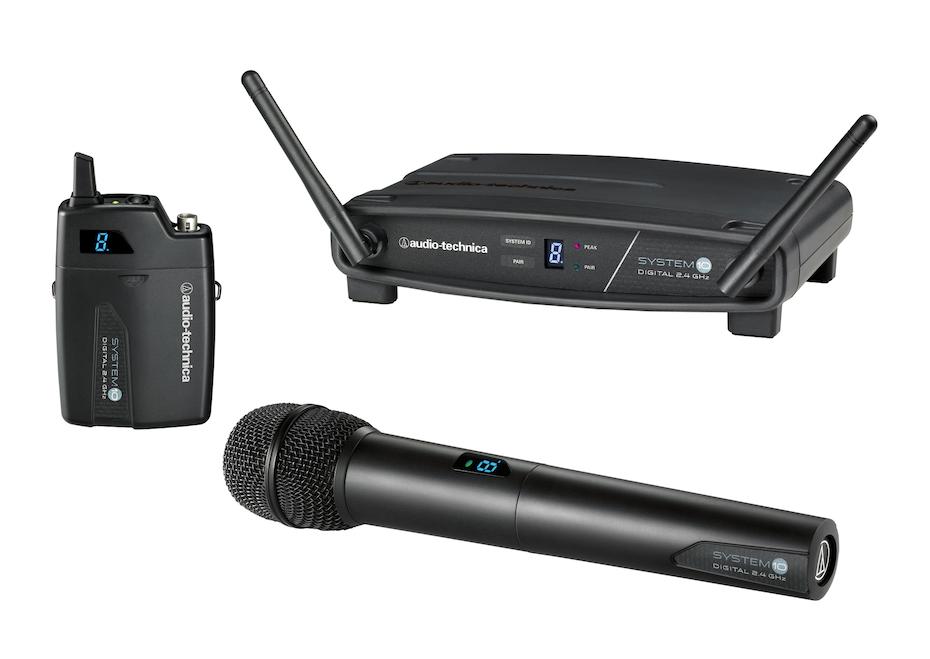 Image of   Audio-Technica System 10 - Trådløst mikrofonsæt