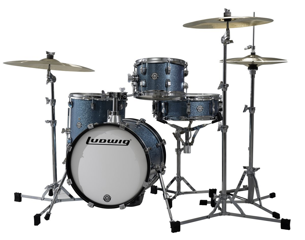 Image of   Ludwig Breakbeats by Questlove Trommesæt Azure Sparkle