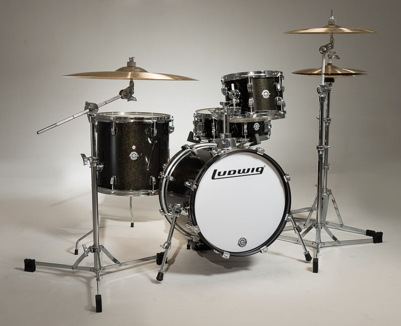 Image of   Ludwig Breakbeats by Questlove Trommesæt Black Sparkle