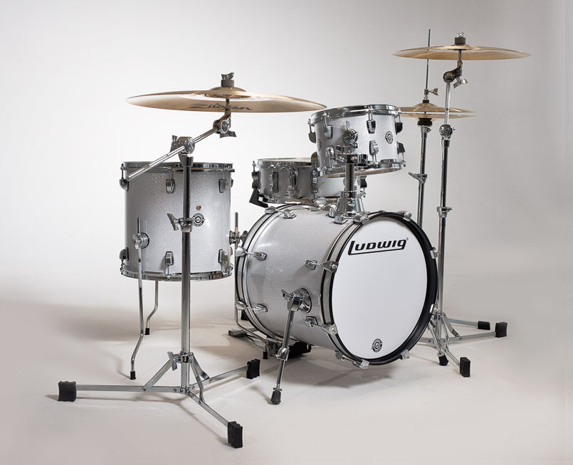 Image of   Ludwig Breakbeats by Questlove Trommesæt White Sparkle