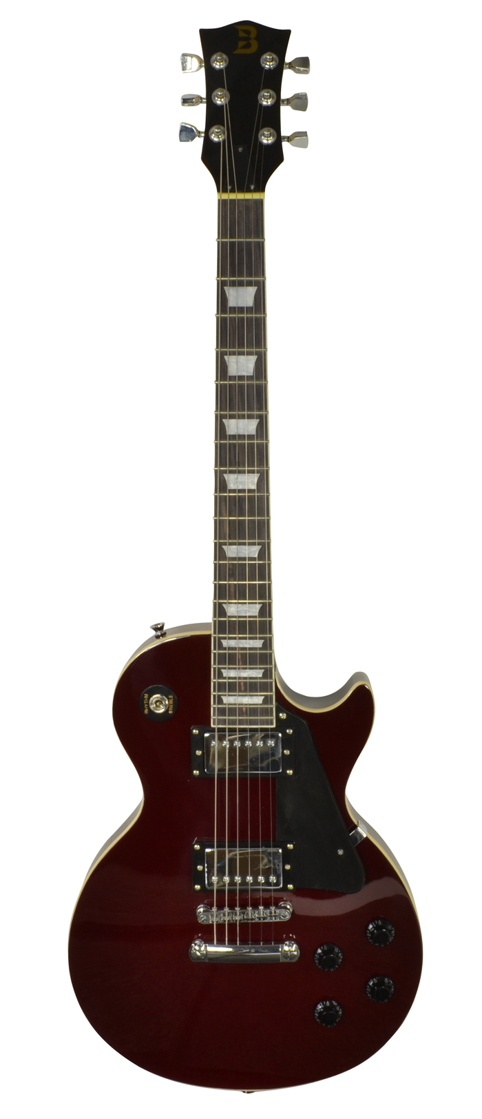 Image of   Bryce Les Paul guitar Wine Red