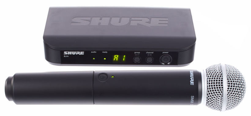 Image of   Shure BLX24/SM58 S8