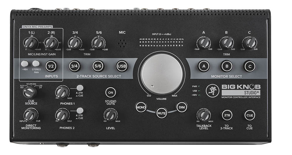 Image of   Mackie monitor controller Big Knob Studio+
