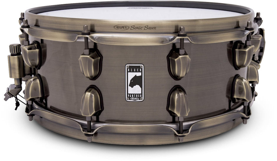 "Mapex 14x5,5"" Black Panther Brass Cat Lilletromme"