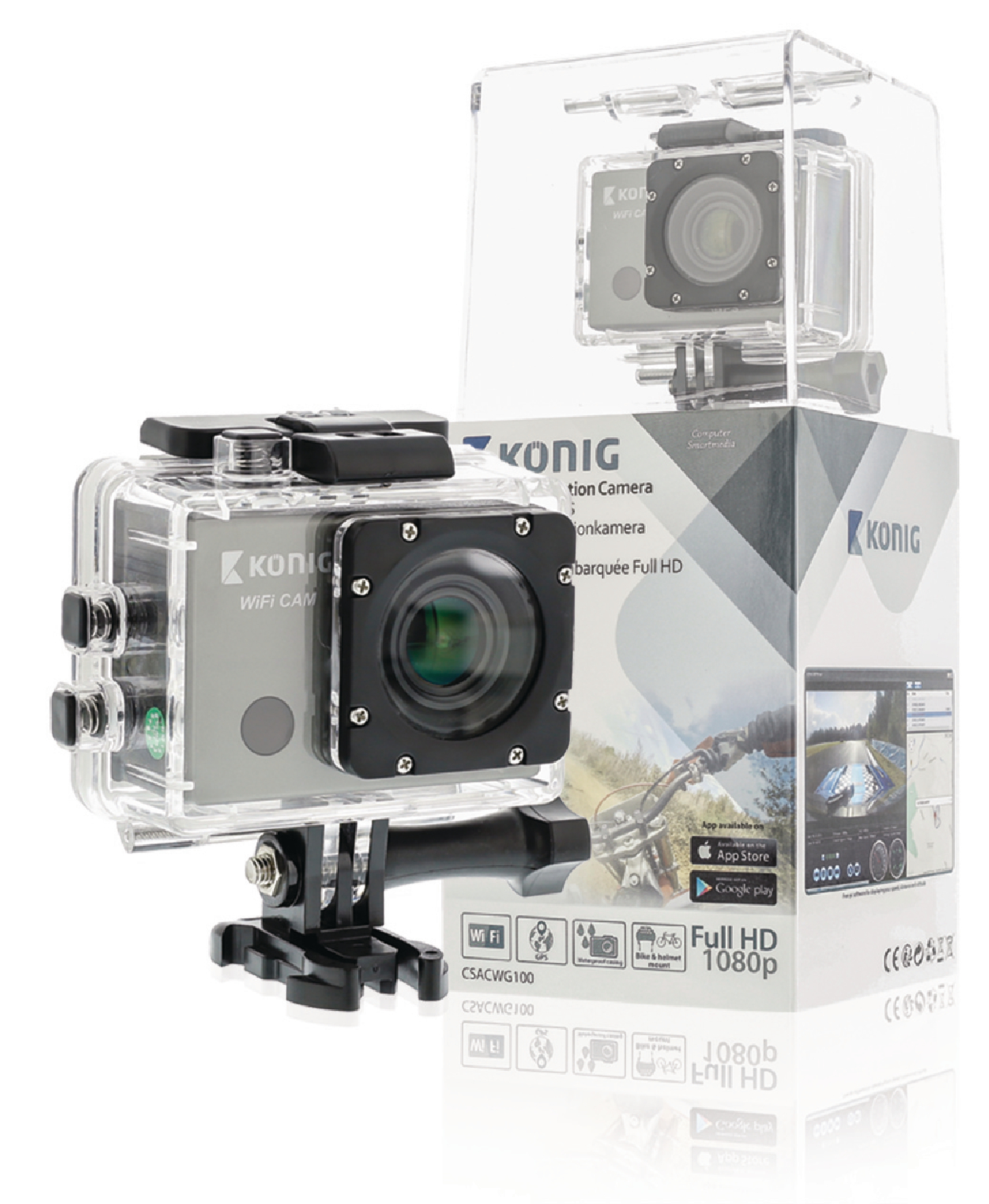 Image of   Full Hd Action Camera 1080p Wi-Fi / GPS Sort