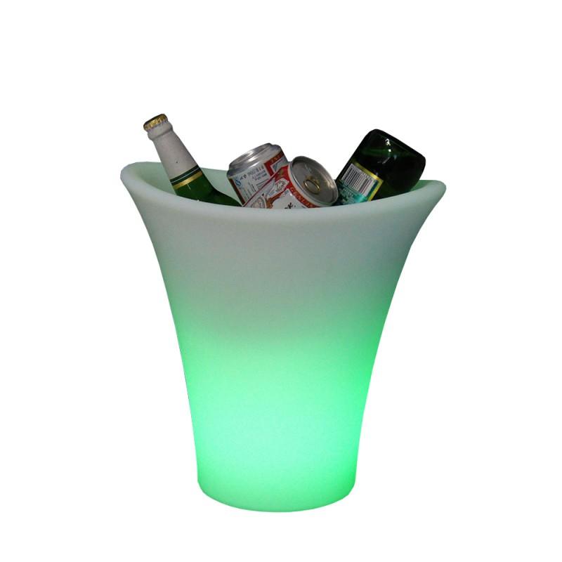 Champagnespand med LED lys