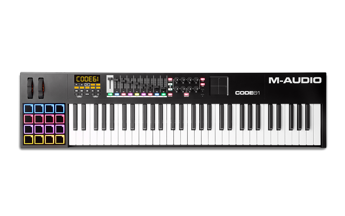 Image of   M-Audio CODE 61 Black