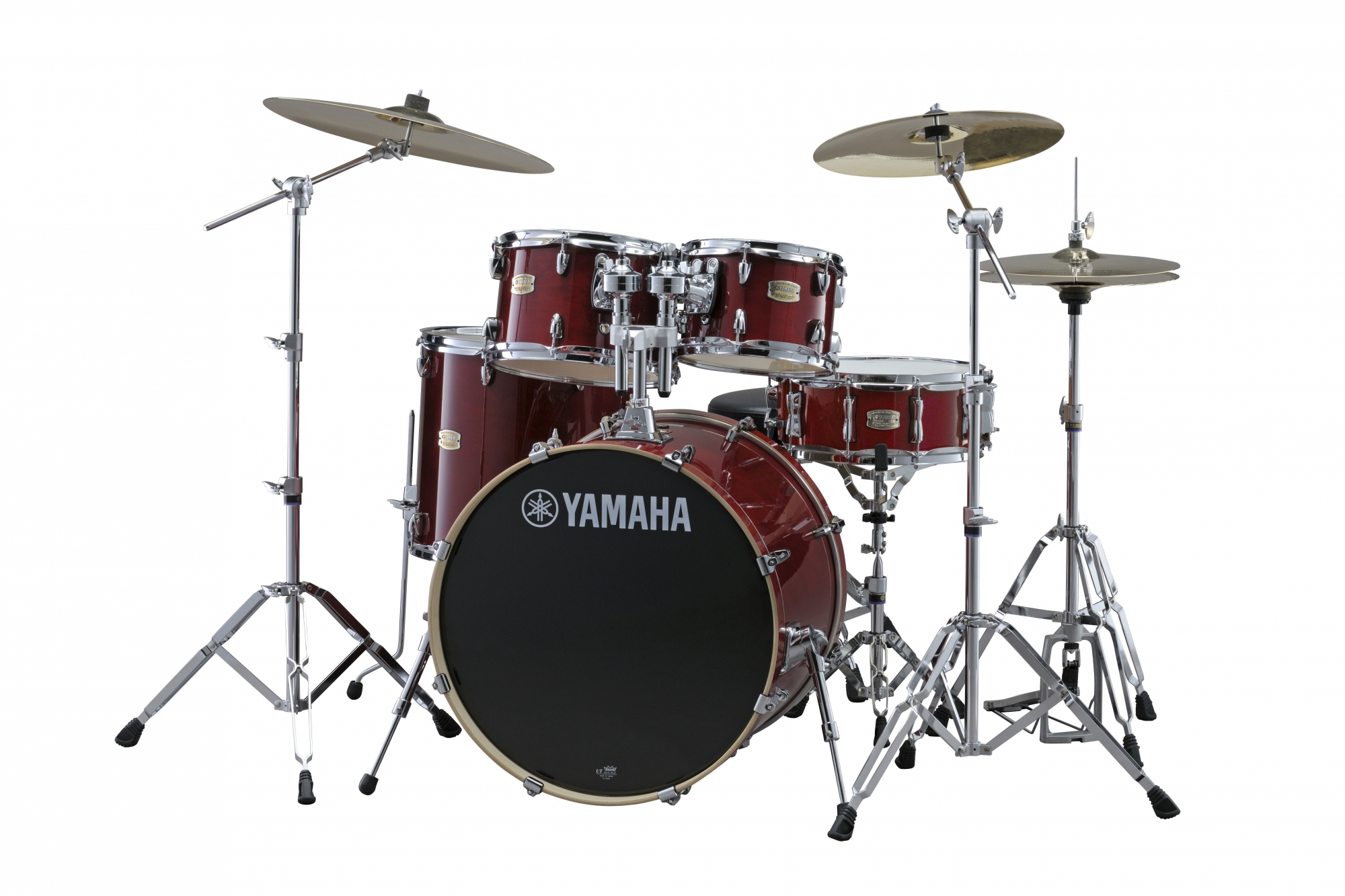 Yamaha Stage Custom Birch Standard Trommesæt - Cranberry Red