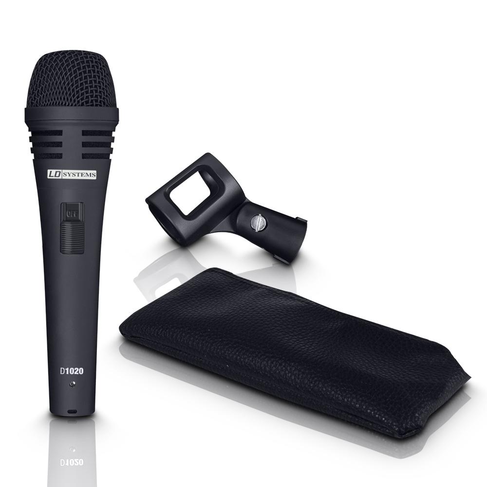 Image of   LD Systems D 1020 Vokal Mikrofon med afbryder