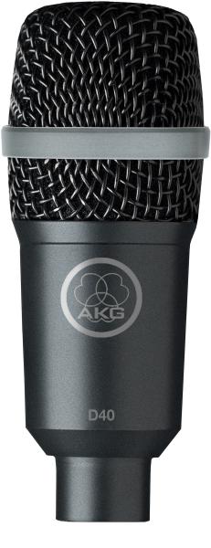 AKG D40 Dynamisk Instrument Mikrofon