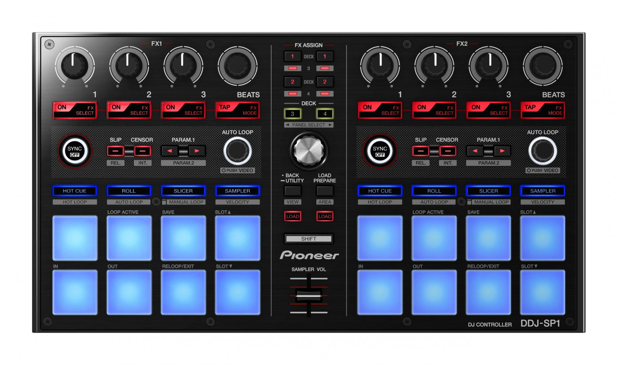 Effektmaskiner til DJ