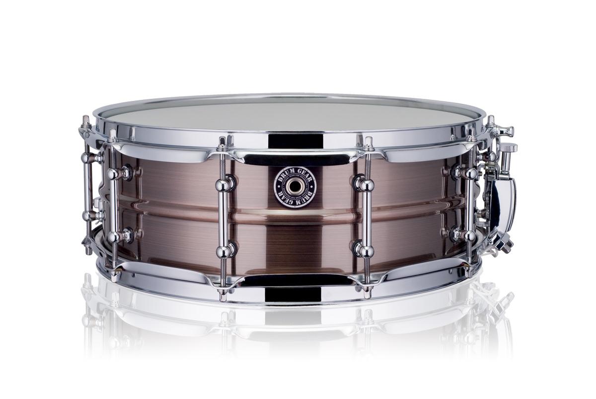 """Drum Gear 14x5"""" SnareWorks Bronze MKII lilletromme"""