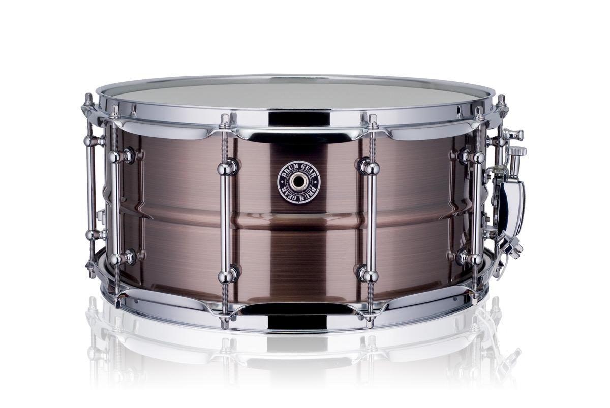 """Drum Gear 14x6,5"""" SnareWorks Bronze MKll lilletromme"""