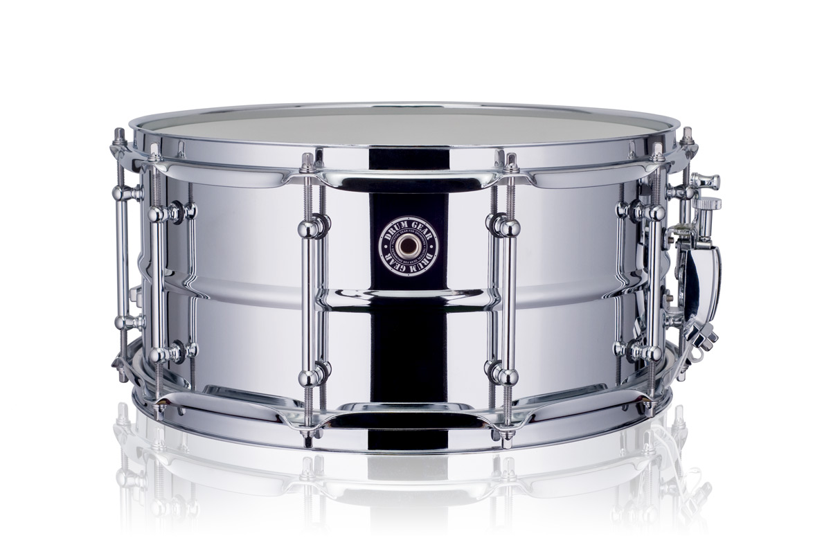 "Drum Gear 14x6,5"" SnareWorks Stål MKII lilletromme"