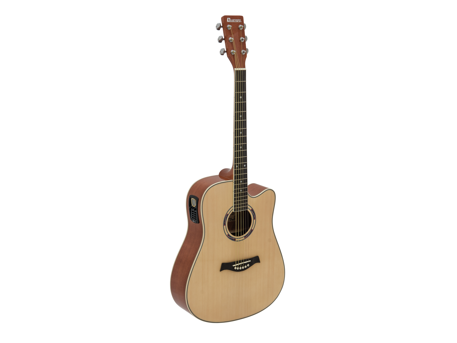 Image of   DiMavery DR-520 Western Guitar - Natur