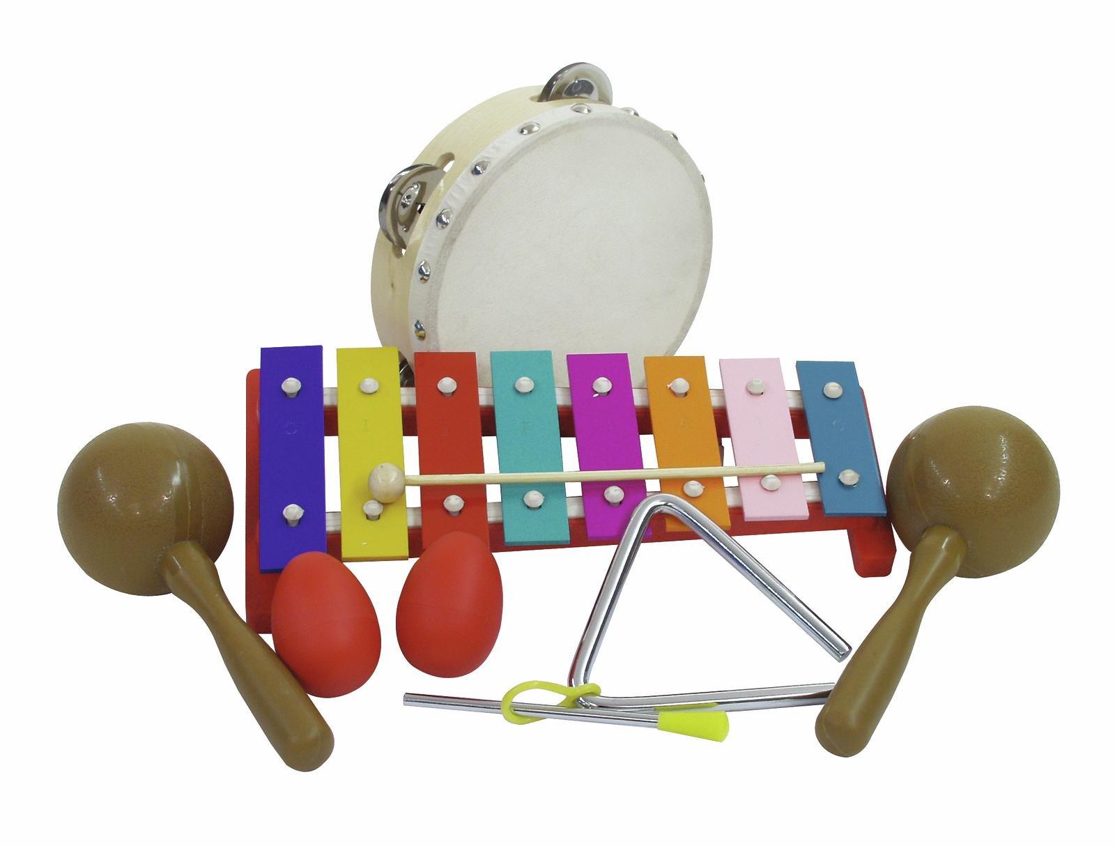 DiMavery Percussion sæt III, 7 dele