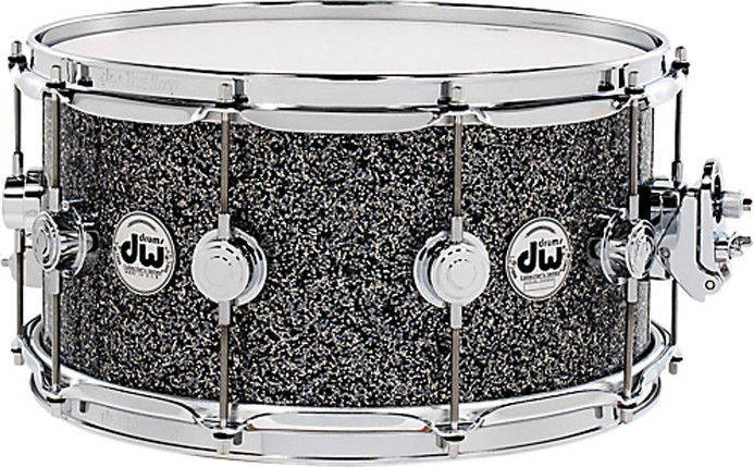 "DW Collectors 14x6,5"" Black Galaxy Lilletromme"