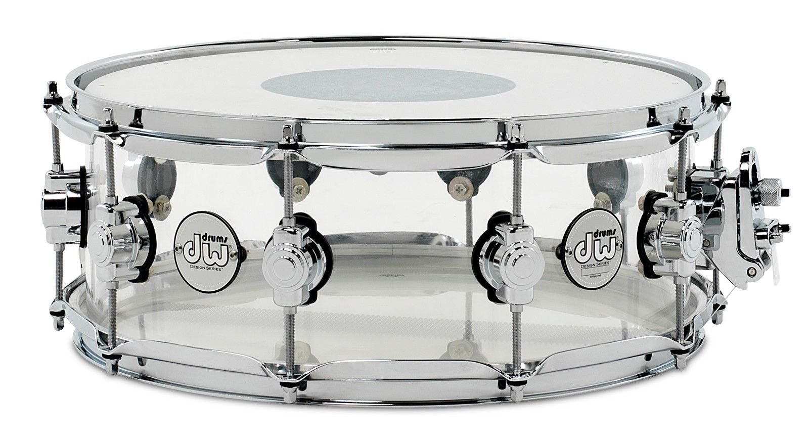 "DW 14x5,5"" Design Series Acrylic Lilletromme"