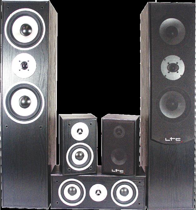 Image of   5.0 hjemmebiograf lydsystem Sort