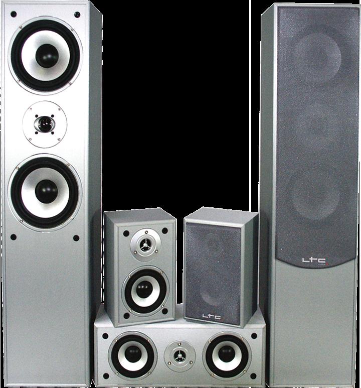 Image of   5.0 hjemmebiograf lydsystem Sølv