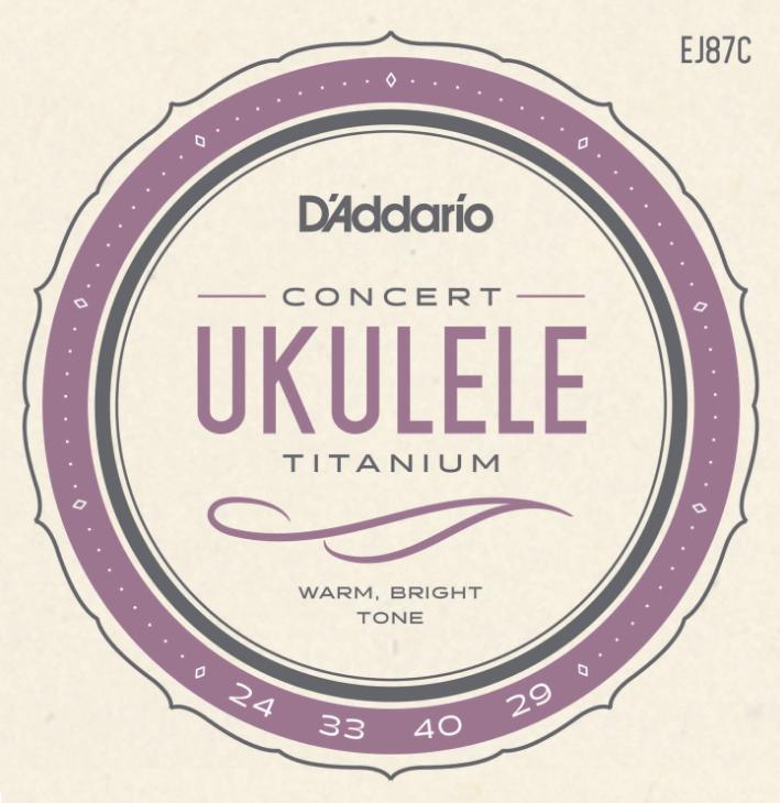 Strenge til concert ukulele