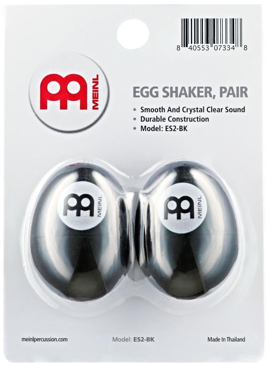 Image of   Meinl ES2-BK Egg Maracas (2)