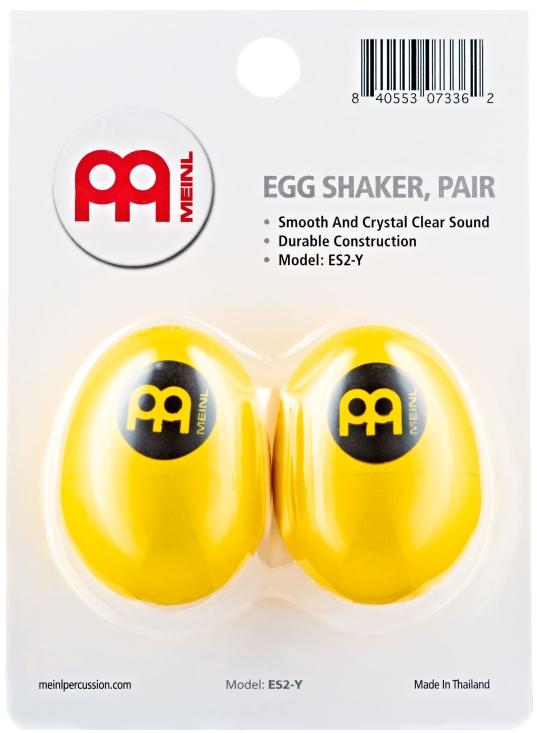 Image of   Meinl ES2-Y Egg Maracas (2)
