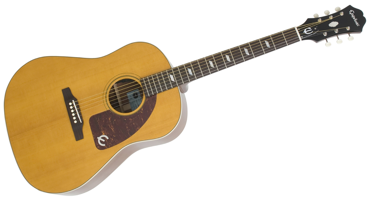 "Image of   Epiphone ""1964 Texan"" - Antique Natural"