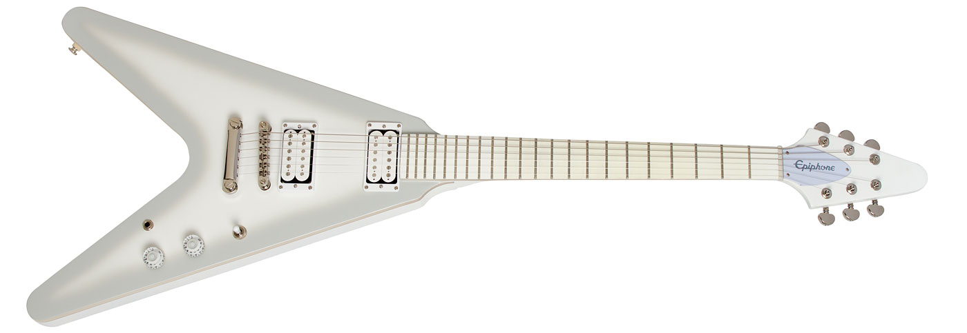 Image of   Epiphone Brendon Small Snow Falcon Limited Edition, Snow Burst