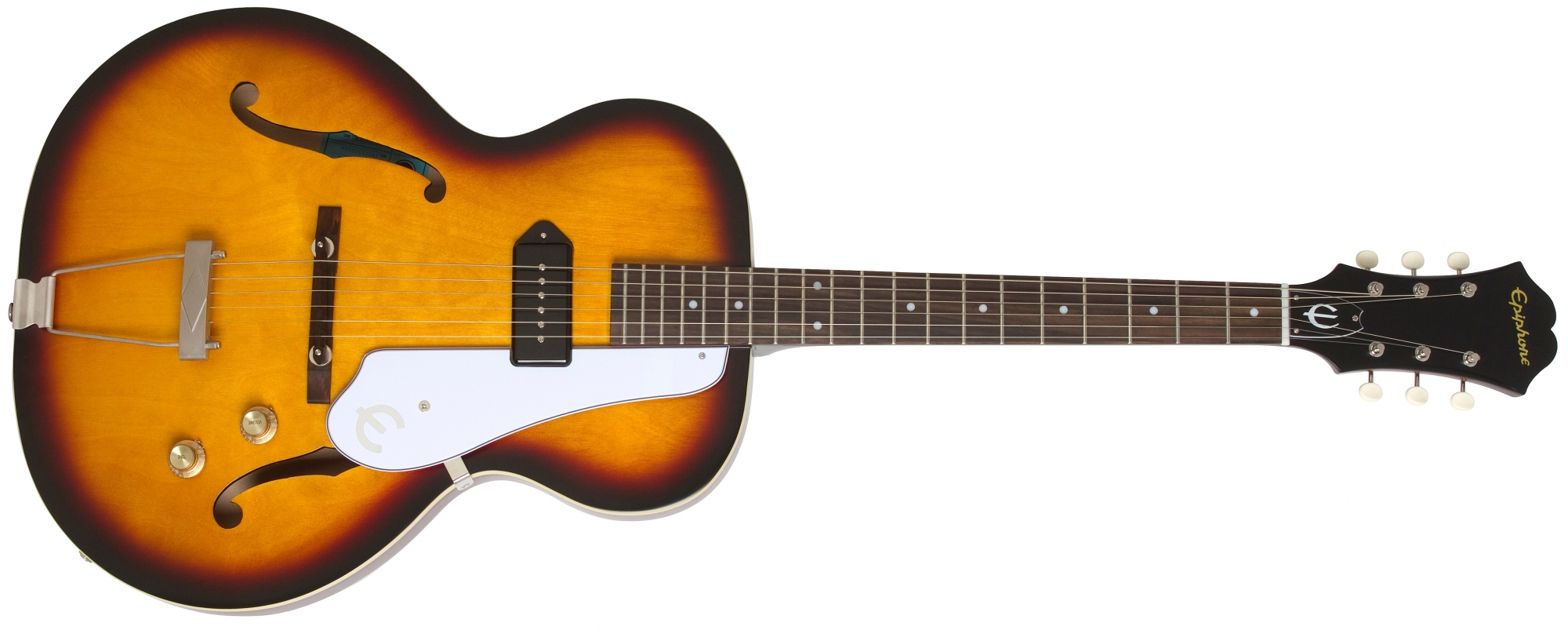 Image of   Epiphone Inspired by CENTURY 1966, Vintage Sunburst