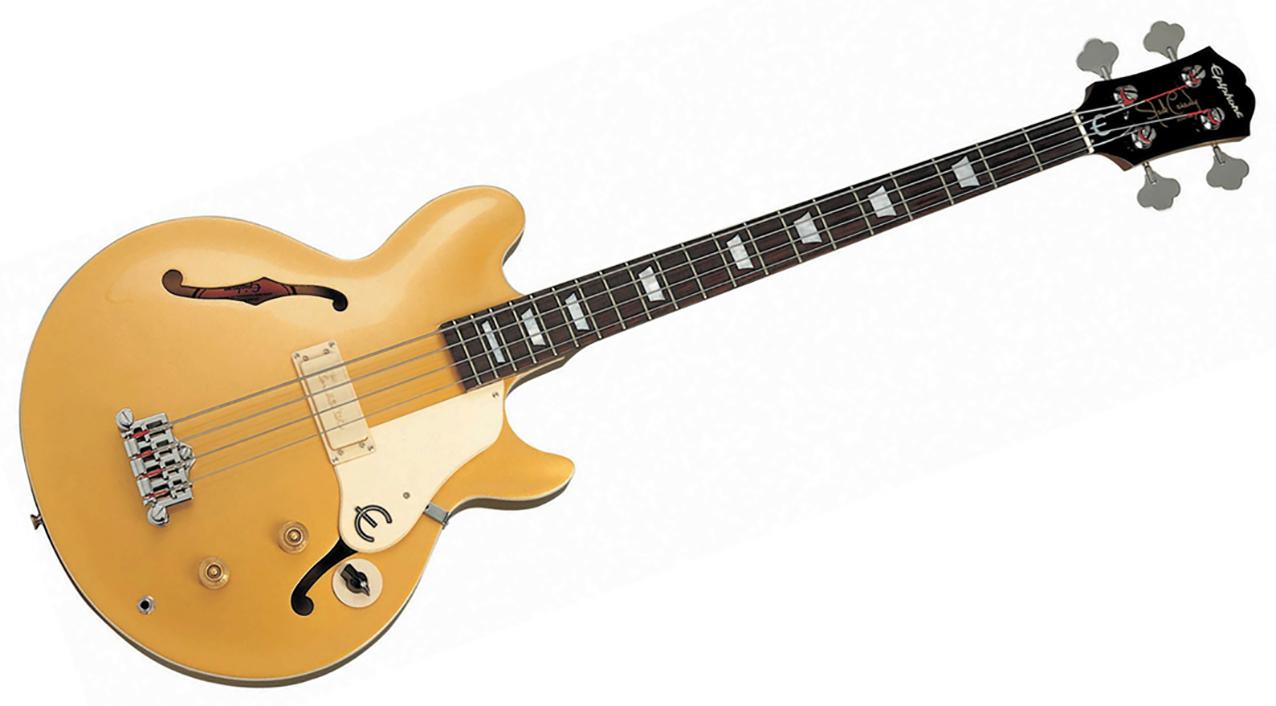 Epiphone Jack Casady Bass, Goldtop