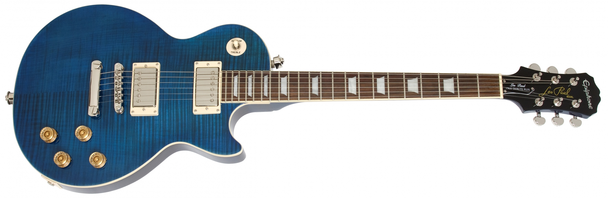Image of   Epiphone Les Paul Tribute Plus 60s, Midnight Saphire