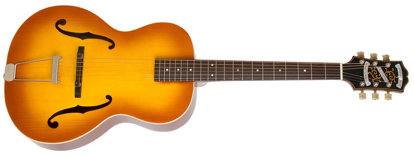 Epiphone Masterbilt Olympic, Honey Burst