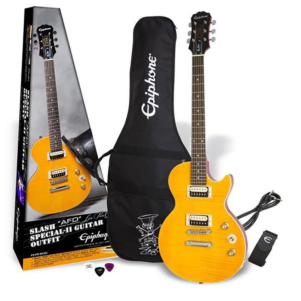 "Epiphone Slash ""AFD"" Les Paul Special-II Outfit CF"