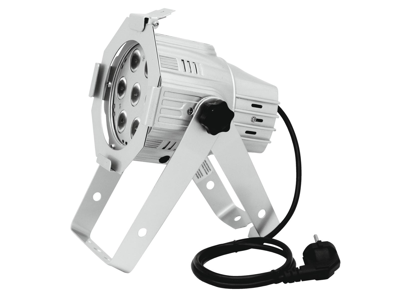 Image of   EUROLITE LED ML-30 QCL 7x8W sølv