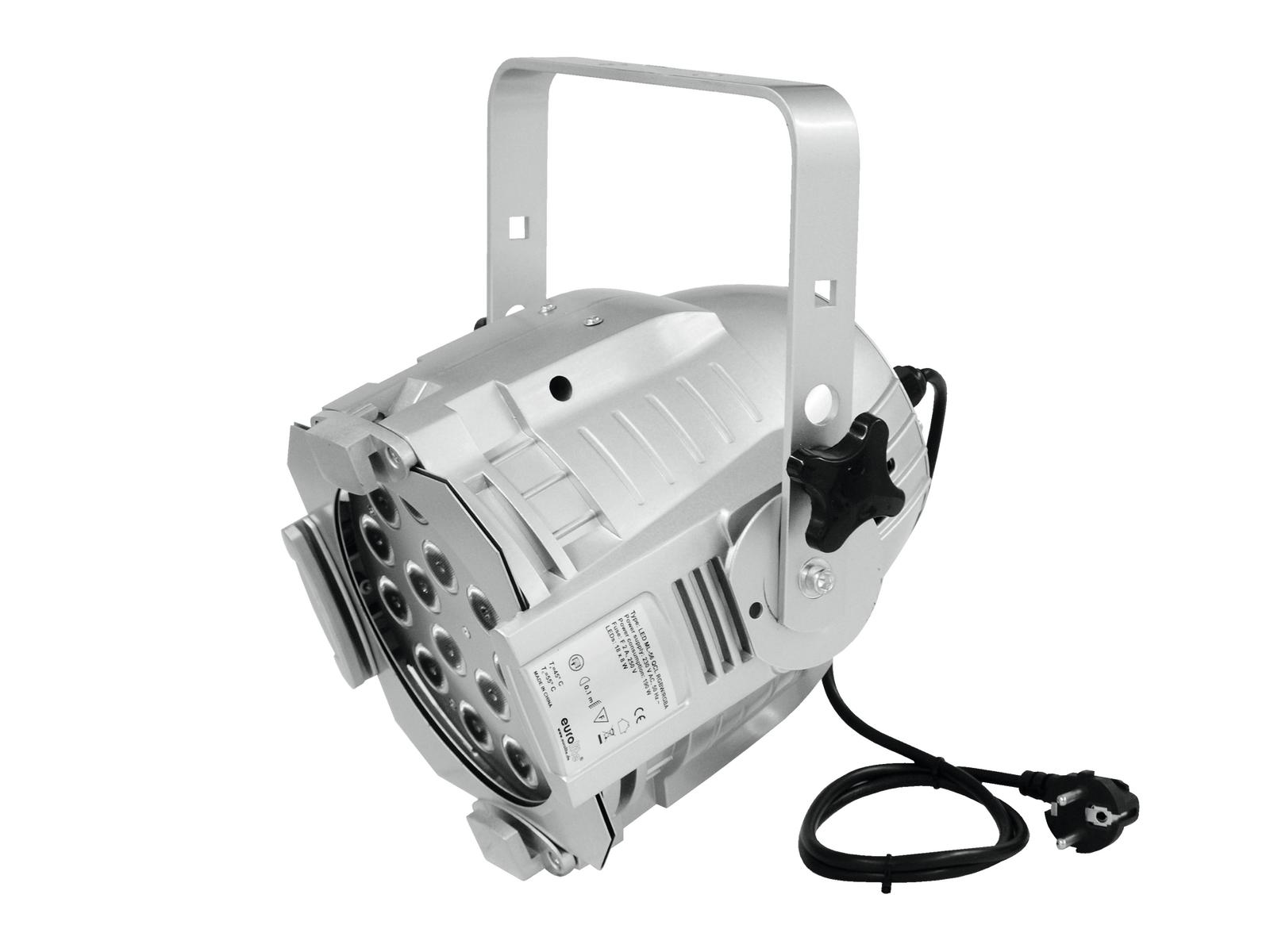 Image of   EUROLITE LED ML-56 QCL RGBW/RGBA 18x8W sølv