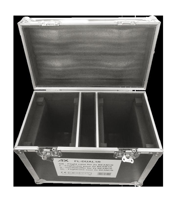 Image of   AFX - Dual Flightcase til Beam 1R