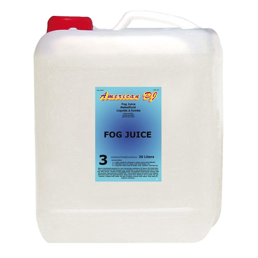 Billede af ADJ Fog juice 3 heavy 20 Liter