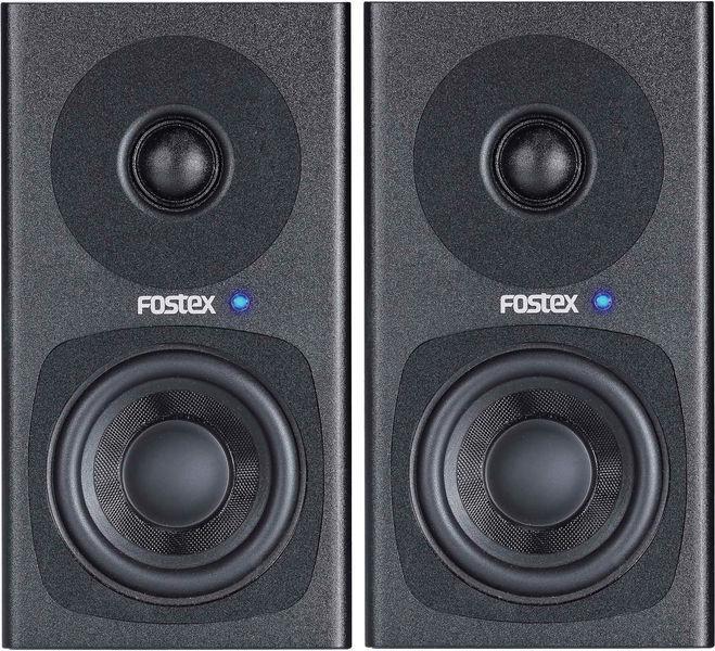 Fostex PM0.3 Aktivt Højttalersæt, sort