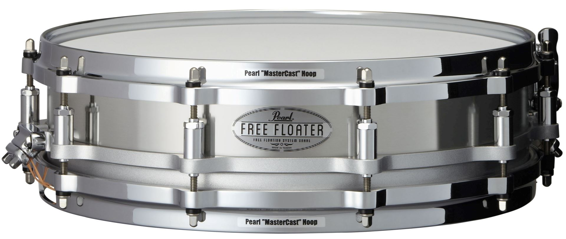 "Pearl 14x3,5"" Free Floating Stainless Steel lilletromme"