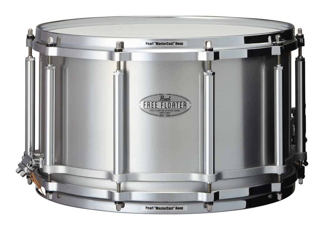 "Pearl 14x8"" Free Floating Seamless Aluminium lilletromme"