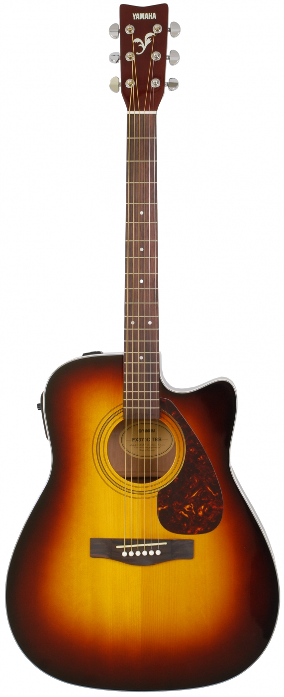 Image of   Yamaha FX370C western guitar - tobacco brown sunburst