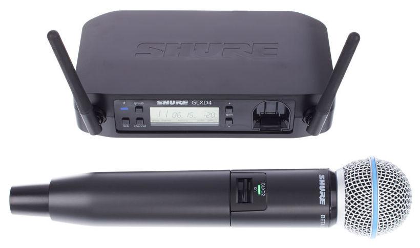 Shure GLXD24/Beta58 trådløs mikrofon