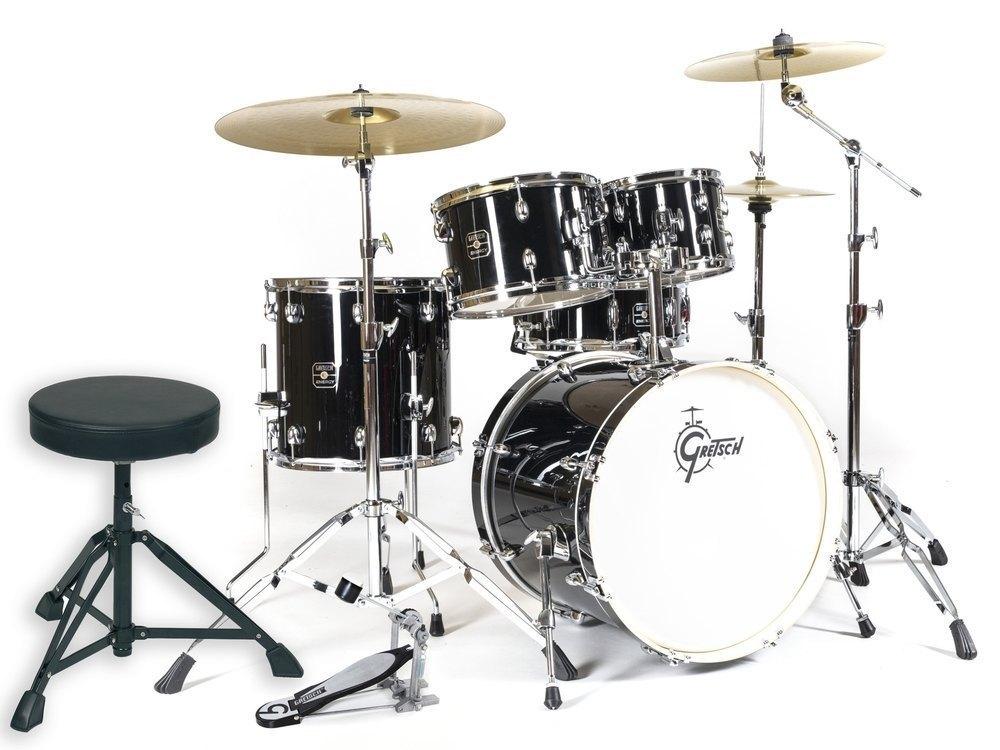 Gretsch Energy Studio Black Komplet Trommesæt
