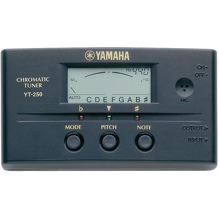 Yamaha YT-250 Guitar Tuner - Chromatic